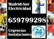Electricista urgencias avisos electricidad reparaciones instalaciones  fuenlabrada-getafe-leganés