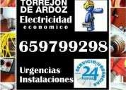 Electricista en torrejón de ardoz. económico. instalaciones, reparaciones y urgencias