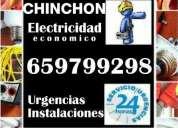 Electricista en chinchón. económico. instalaciones, reparaciones y urgencias