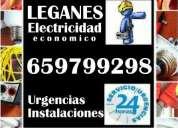 Electricista urgencias avisos reparaciones instalaciones  leganés