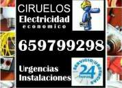 Electricista en ciruelos. económico. instalaciones, reparaciones y urgencias