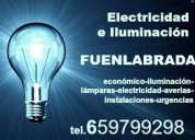 Electricidad e iluminación fuenlabrada