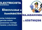 Electricista en majadahonda. económico. instalaciones, reparaciones y urgencias