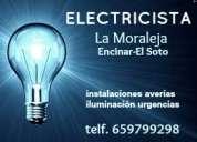 Electricista en la moraleja-encinar. instalaciones, reparaciones y urgencias