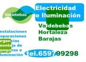 Electricista en valdebebas. instalaciones, reparaciones y urgencias. económico