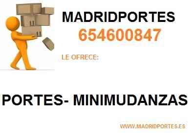 TLF((654600847)) MUDANZAS EN *POZUELO DE ALARCON >40€<