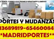 Portes baratos(91)36+89819 en vicalvaro(mudanzas madrid)