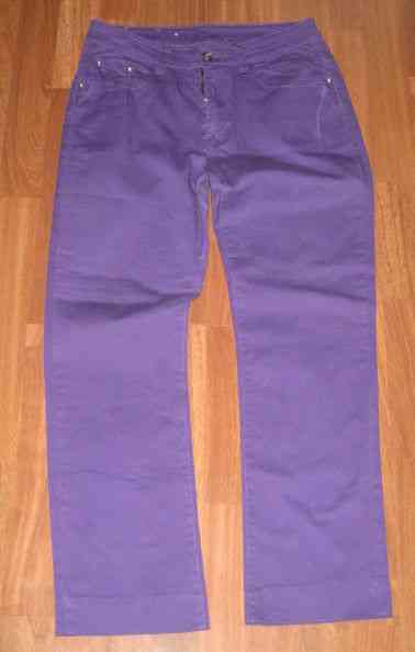 Pantalon morado tipo vaquero