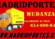 Servicios 91(368)98x19 portes y mudanzas economicas en aluche