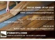 Tarimas y revestimiento de suelos en maderas y parquet