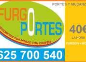 Mudanzas economicas en getafe 62(57)oo5:40 (fletes x horas)40€