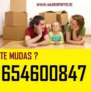 TRANSPORTES C/PROFESIONALES(65)460+08:47 MUDANZAS MADRID ECONOMICAS