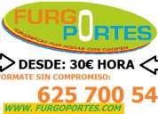 Portes en alcobendas(62)57:005x40 servicios por horas baratos