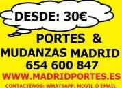 Portes baratos 65(46)oo8x47 en barrio la latina(madrid centro)30€
