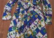 Vestido camisero vintage estampado