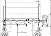 Mixer 1,5 m3 planos completos para fabricar el mezclador.