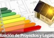 Realización de proyectos y legalizaciones, contactarse.