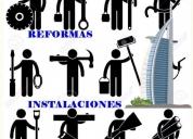 Hacemos reformas , instalaciones y limpieza de pisos.,contactarse.