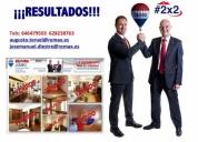 Excelente servicios inmobiliarios 2x2 remax jumbo, madrid