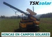 Hinca campos solares