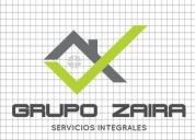 Grupo zaira servicios integrales,contactarse.