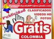 Gratis, publicistas, publicidad, paginas web, posicionamiento, clasificados, videos. espaÑa, madrid