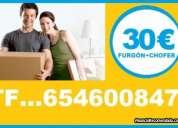 Fijo:91*3689-819 mudanzas/portes desde:30€ economicos sanchinarro