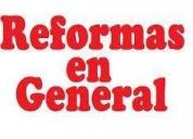 Reformas integrales, contactarse.