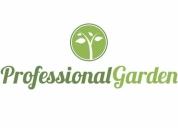 Mantenimiento de jardines y comunidades. contactarse.