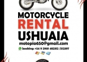 Alquiler de motos en ushuaia