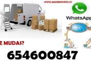 Movilidad: mudanzas autorizados (65/460-08-47)en barrio del pilar