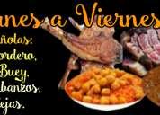 Menú de lunes a viernes a 9€- restaurante aran