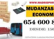 Mudanzas.precios economicas 6.5.4.6oo8-47 en sanchinarro