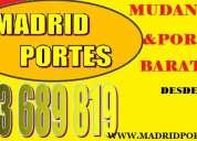 Tan solo desde: 145€ mudanzas enteras 65-46oo-8.47 en centro de madrid