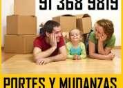 Confie sus mudanzas/portes x profesionales 91.36-898.19 en ventas