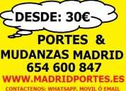 Consulte precios portes y mudanzas 9.1(36)89-81.9 en fuencarral-el pardo