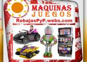 Fabrica, tragamonedas, maquinas casino, ruletas, maquinas de gua, carros electricos, dispensadores