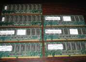 Lote de memoria ram para servidores
