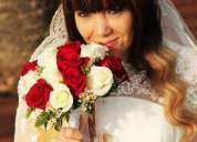 Vídeo reportaje y reportaje fotográfico para bodas,contactarse.