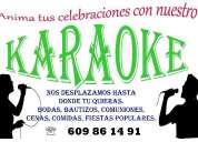 Disco mÓvil karaoke, contactarse.