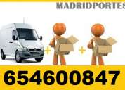 Portes madrid/65-4.6oxo8,47 busco furgones/camiones autorizados