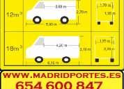 Portes 60€/hora 6-5(4)6.oo8(4)7 servicios económicos madrid
