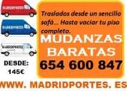 Low cost:mudanzas- portes 65::46008x47 en fuencarral