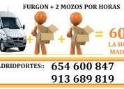 Mini mudanzas garantizadas 9,1.3.6(898)1.9 en aravaca 125€