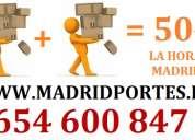 PORTES A PARTICULARES 9(13)68-98.19 EN ALCOBENDAS DESDE 40€