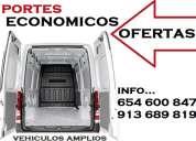 Servicios: fletes en boadilla del monte 65(4.6)oo+847 madrid-portes