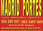 Minimudanzas y portes(precios 0nline)65,,460,,0847 en chamartin