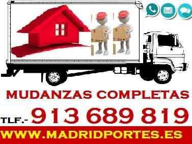 MUDANZAS BARATAS A PARTICULARES,ESTUDIANTES..EN PINTO,FUENLABRADA