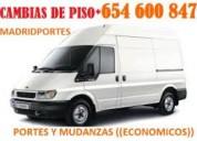 >>##mudanzas economicas en barrio del pilar##654600847*desde 125€