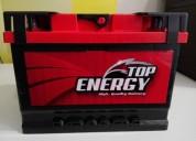 Bateria coche top energy 60ah 600 en, contactarse.